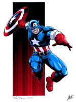 Captain America by exeryus