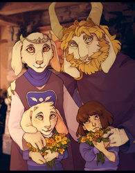 - The Golden Family - by HennaFaunway