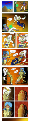 Commission Comic : Pyramid Fight by Gregory-GID-DID
