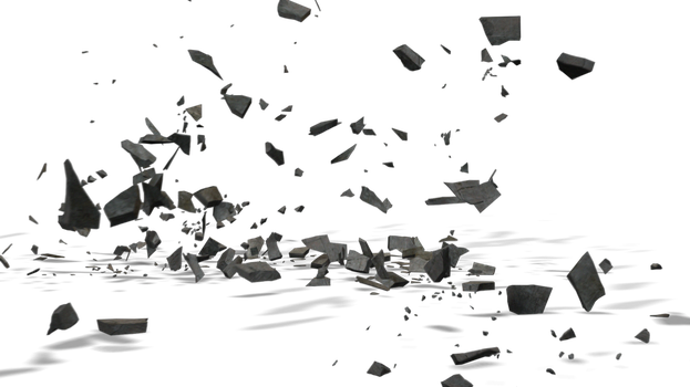 Cement Collapse PNG by ashrafcrew