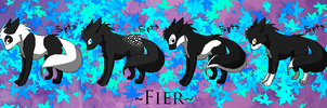 Fier - Monochrome Set :5 pts: by Rythos