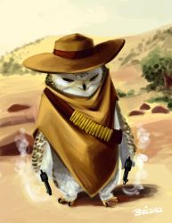 The Good The Bad and The Owly by eightbreeze