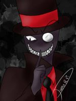 Black hat villainous [with speedpaint] by ONIGIRI1818