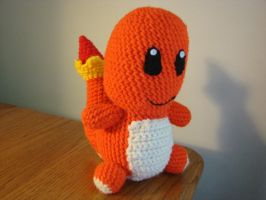 Charmander Pokedoll by cRochat-Creations