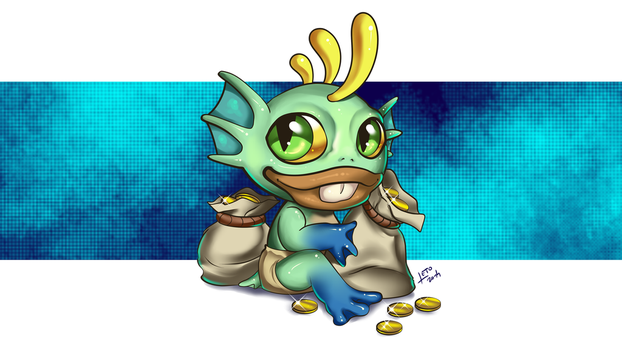 Greedy Murky Wallpaper by Leto4rt