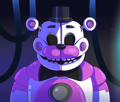 Funtime Freddy by SerifDraws