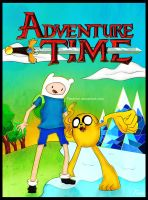Adventure Time Poster by Teine-tor