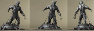 Weapon X by AYsculpture