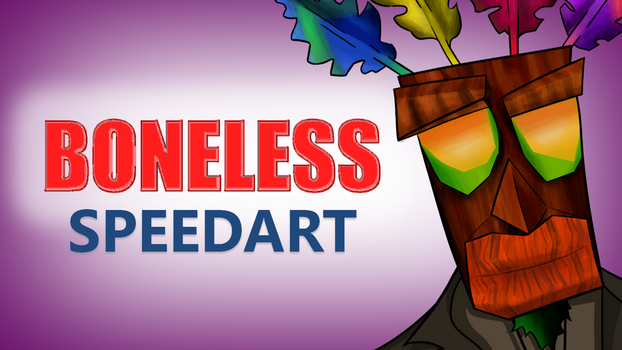 Boneless Speedart Thumbnail by JedDraws