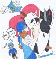 Free-Drawings 02 :Taurus X Vinessa ! by Lucasso972