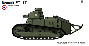 Renault FT-17 Gun by P0landWW2
