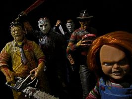 McFarlane's Maniacs by Police-Box-Traveler