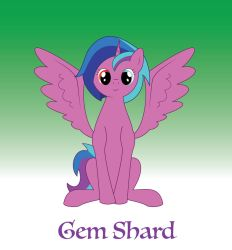 Gem Shard (requested by fluttershyshy03) by miipack603