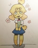 Isabelle. by ColorMePeaches
