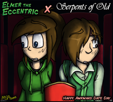Serpents of Old V-Day Crossover by MSPToons