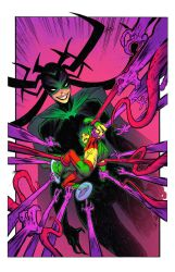 Mister Miracle vs Hela by spidermanfan2099