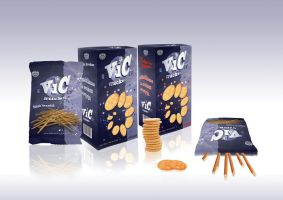 Vic snacks package redesign by VillyVilly