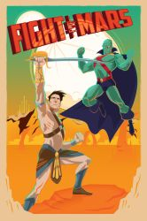 Fight for Mars by seanwthornton