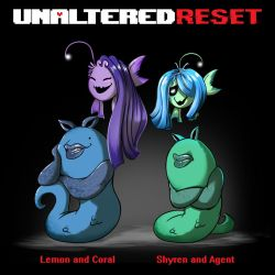 Undertale Reset - Sprite The Singer sisters by oennarts