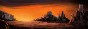 Teccon : The Long Journey - Background 02 by berov