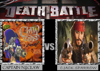 Death Battle #5 Captain N.J.Claw VS C.J.Sparrow by adrian98-12