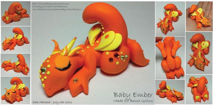 Baby Ember by lizzarddesigns