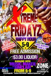 XTREME FRIDAYZ HAPPY HOUR FLYE by mochadevil83