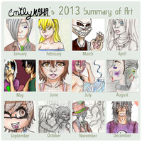 2013 Summary of Art by emilyk949