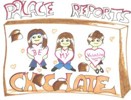Palace Reports Chocolate by Lysanda-Leau