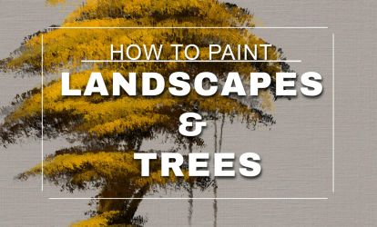 How to paint Landscapes and Trees in Photoshop by MichaelAdamidisArt
