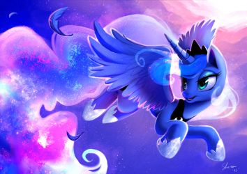 Princess Luna - Cosmic Ballad by Shira-hedgie