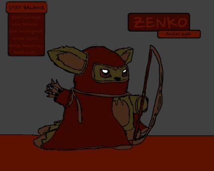 Zenko  (archer) by Brockisnothere