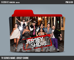 Jersey Shore Folder ICON by kasbandi