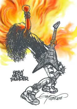 HEAVY METAL THUNDER 2018 by GAYOUR
