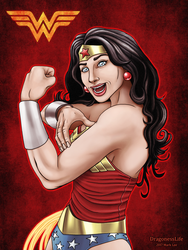 Wonder Woman Power ( ASL ) by DragonessLife