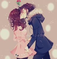 Winter Couple by HonoBread