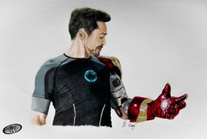 Tony Stark by RemyJuju