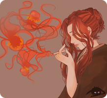 Lost in thoughts by Louna-Ashasou