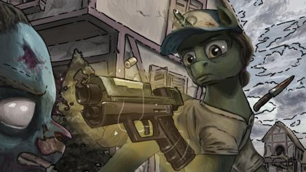 MLP The Walking Dead by turbopower1000