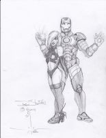 Dawn and Ironman by charlesdeshields9167