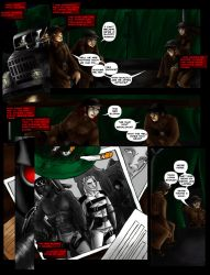 Warchild Page Two by Fanglicious