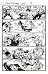 Teen Titans 07 Ink by Hominids