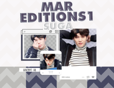 /PACK PNG/ SUGA. by MarEditions1
