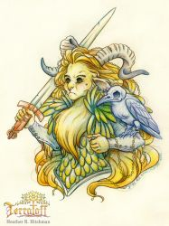 MarchOfTheFauns #10 Queen Of The Rott by HeatherHitchman