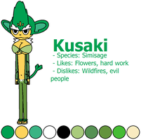 Kusaki the Simisage
