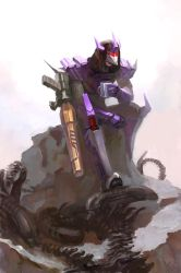 Humanized Galvatron by Naihaan