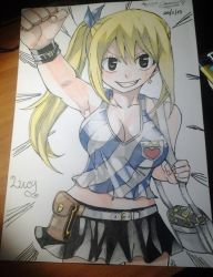 Lucy Hearthphilia-Fairy Tail by Alexiapinkdrawings