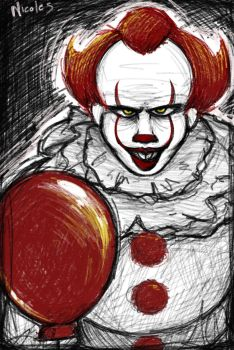 IT- Pennywise by NicoleTheBlueCat