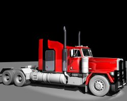 Truck Texturing Phase 3 by TheColorCute
