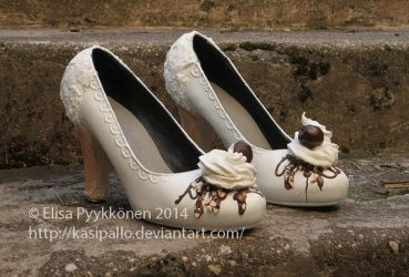 Sundae shoes by Kasipallo